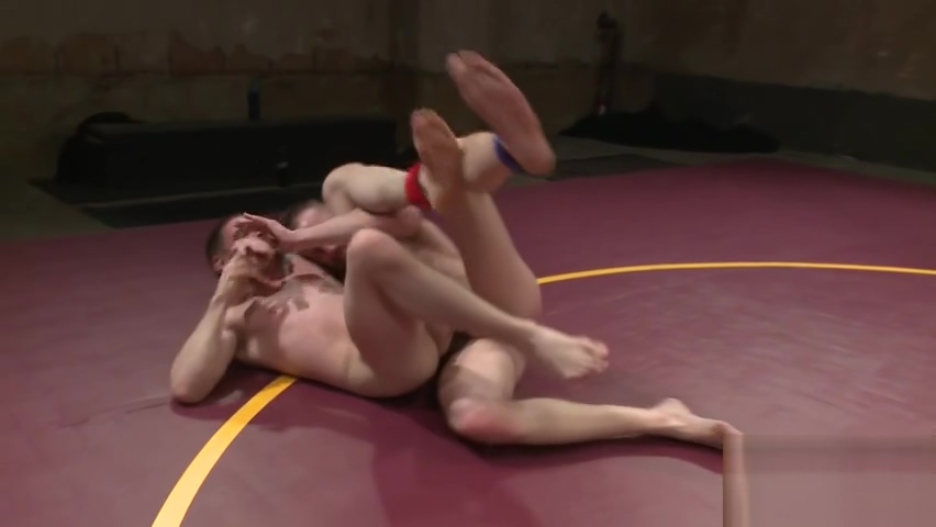 Stud gets dominated during kinky wrestling Free japanese shemale video