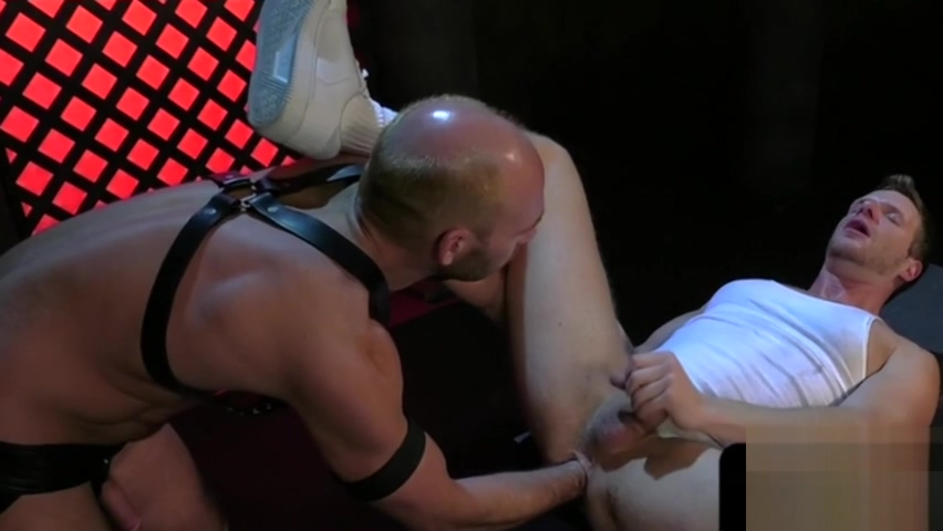 Fisting gays get filthy in bdsm action Girl Gets Fingered In Public