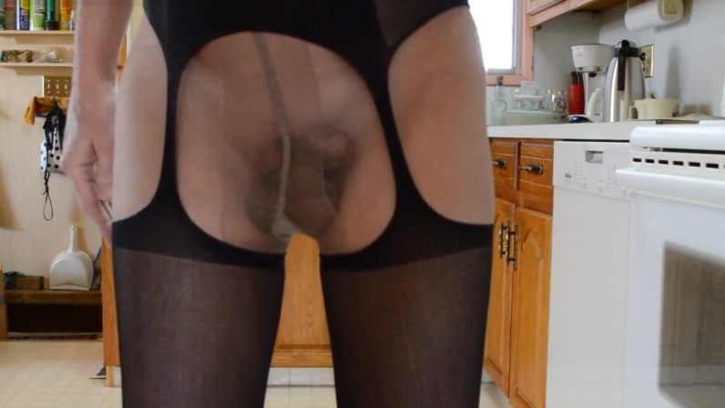 Lingerie Pantyhose and High Heels Afir fuckng vrgin hot sexy