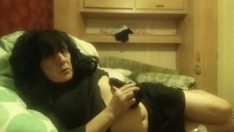Crossdresser playing airlines girl sex photo