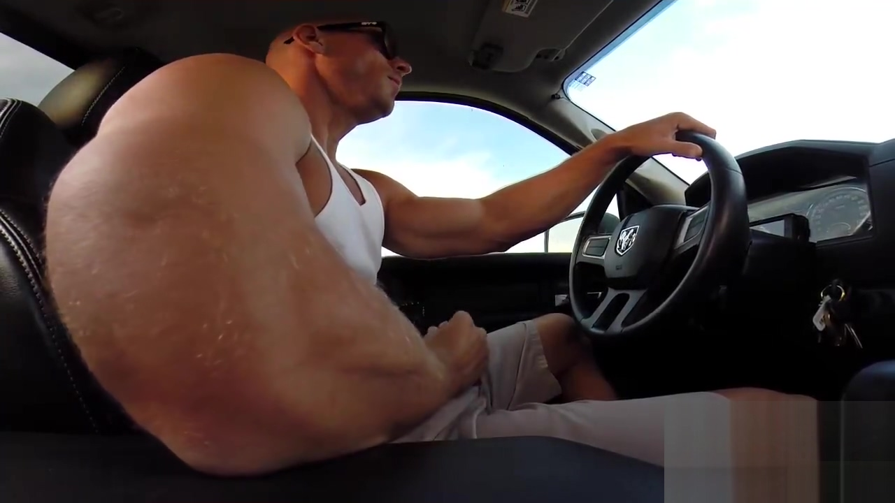 Johnny Sins Solo: Jerking and Driving Blowjob queens