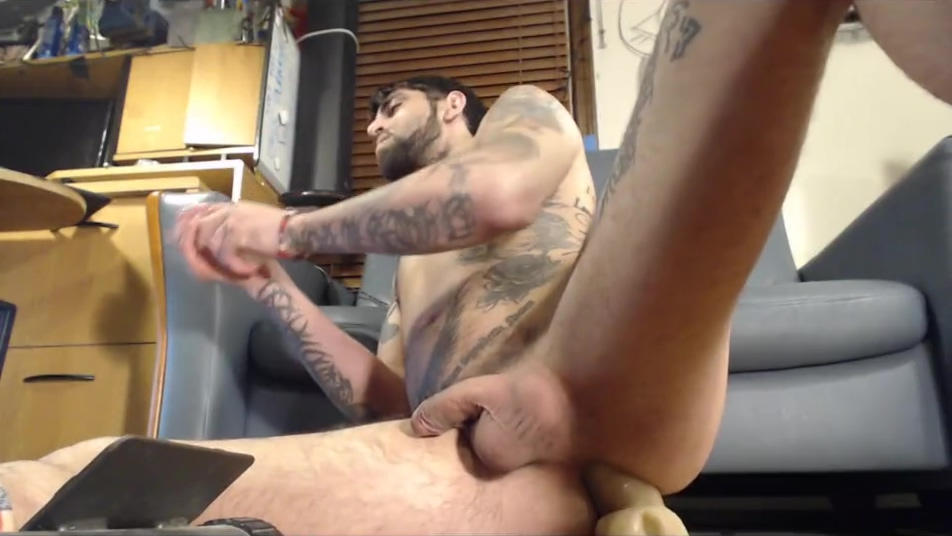 Bouncing on my 12Toy super Deep makes me drip precum and piss into glass 6 small bondage galleries