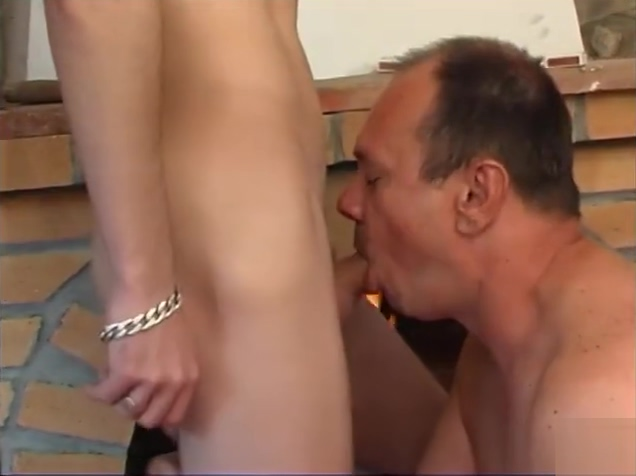 Chubby older guy is fucked hard by a smooth young twink my wife takes messy facial after pov blowjob