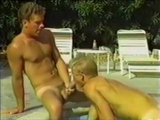 Vintage BB - Blond Bottoms for John Davenport completely naked sex