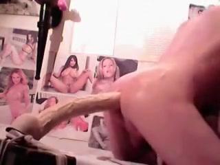 Amanda`s girlsy-boy! Tight curvy pussy