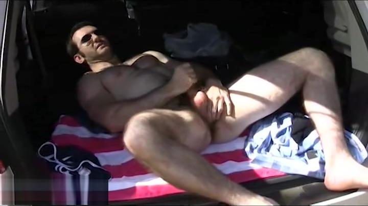 Handsome man Ebony in yoga pants