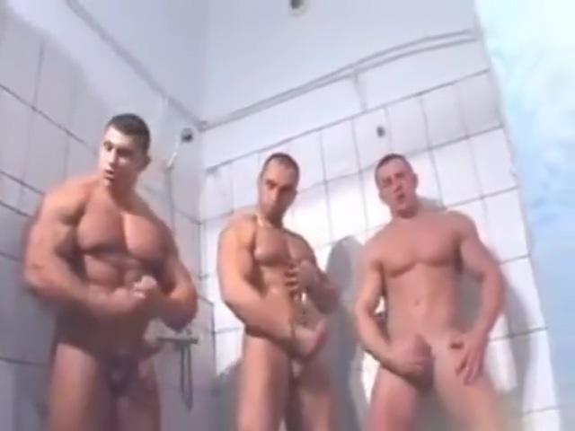 Three hunks Fucking tight white girls