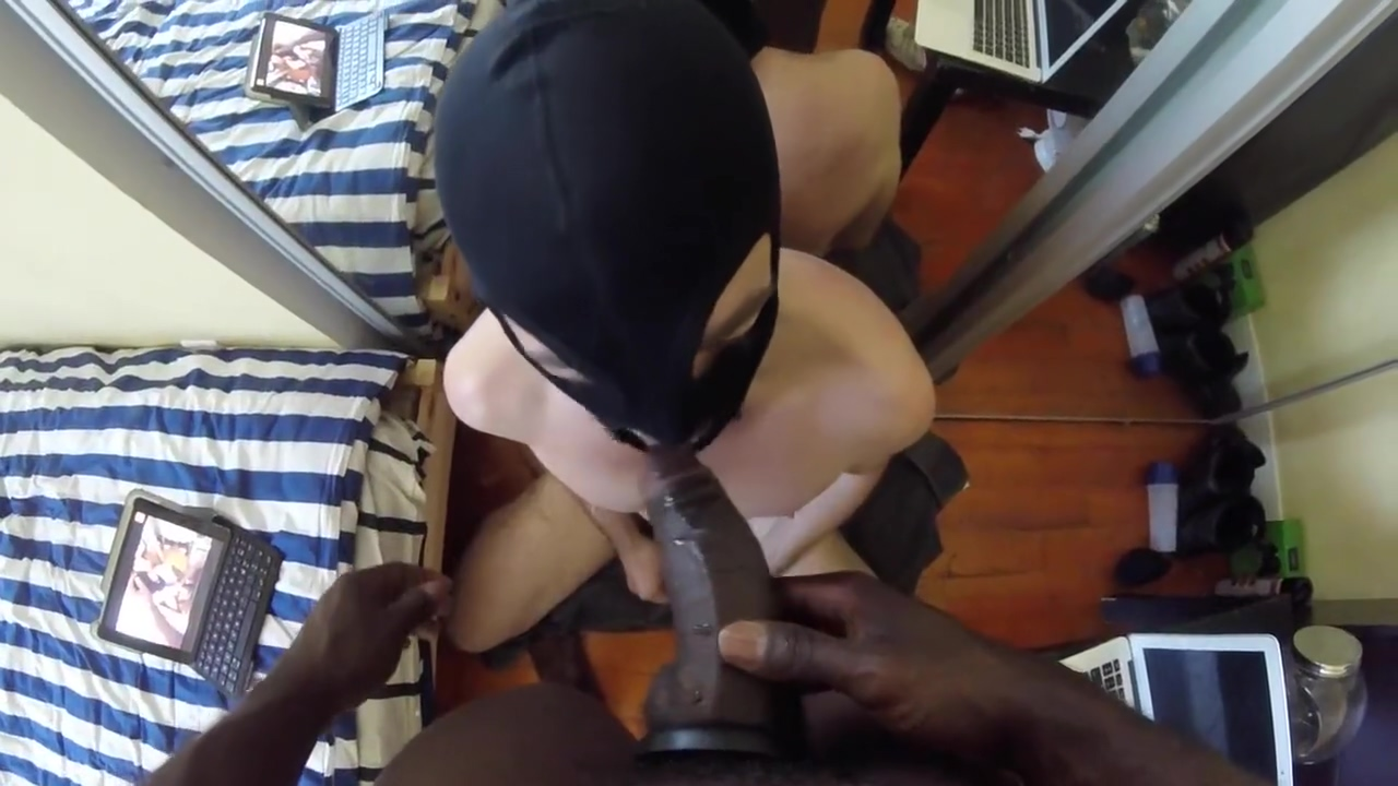 BBC Blow Job Teen tied and banged in an alley