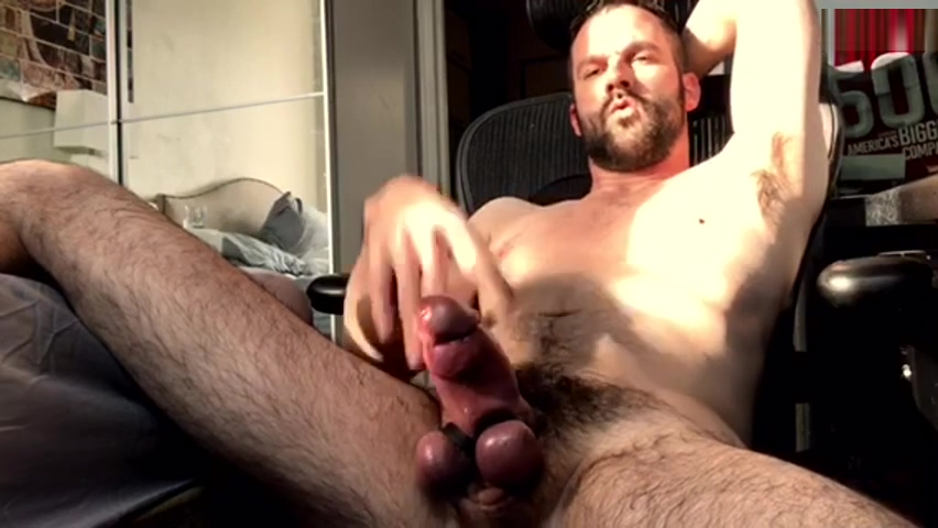 Handsome DILF shows off epic fat hairy girthy cock Farm xxx picturs nude