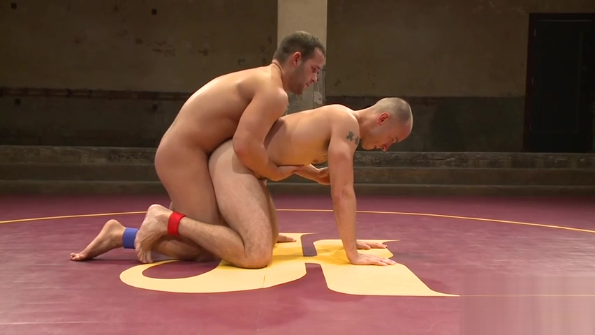 Inked wrestler pins down his muscly opponent Alyssa reece nude