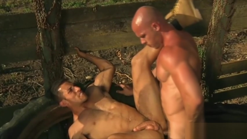 Hot gay action between two musclemen Jumbo black tits