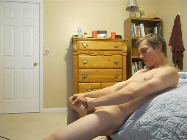 Twink Jerkin In The Bedroom painful anal and scenes