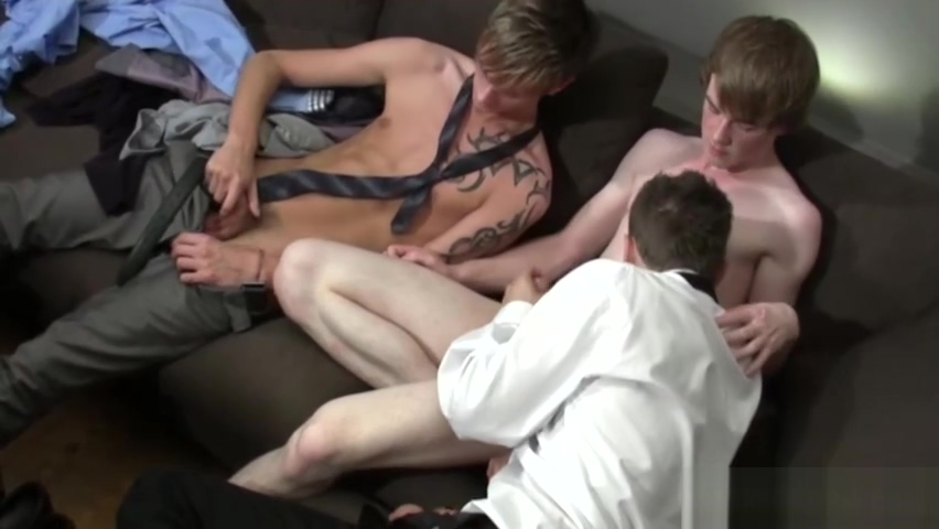 Twinks Enjoying Hardcore Threesome Sex Parody Cinema