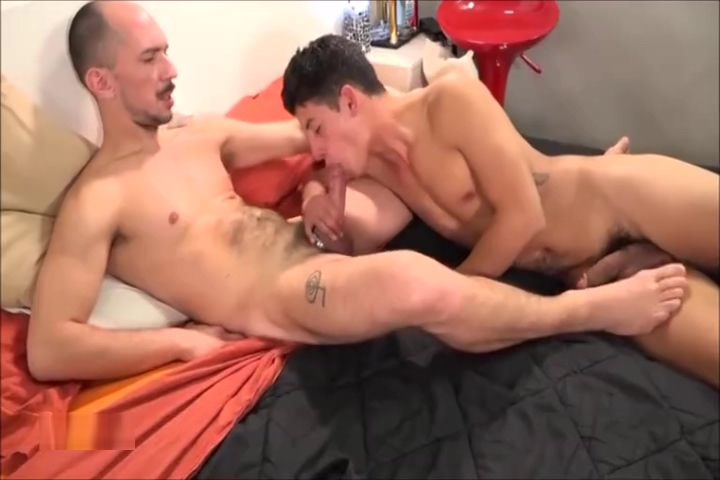 Latino Older Younger fucking in sex club