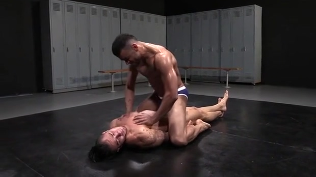 Friday Nite Wrestle 55 Hard Muscle Bulging Briefs Granny gets her pussy fingered