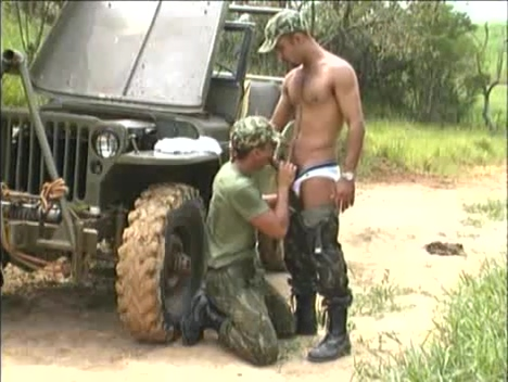 Brazillian Army Lesbos vag fist fucked