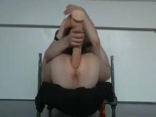 big dildo anal mature brunette fuck clips