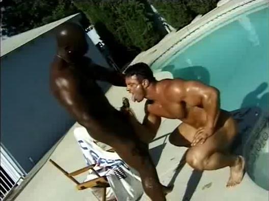 Bobby Blake Mike Hamilton poolside fat milf mega fuck cock