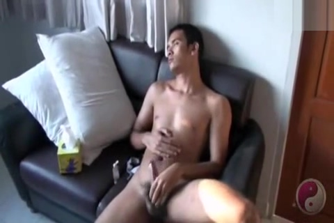 Asian Model Jack-off Amazing milf fucks in dressing room