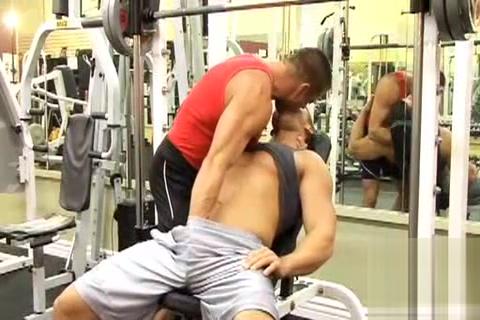 Muscle Gym Ava adams riding