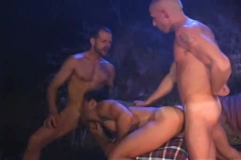 Michael Brandon Around the campfire Massive Black Cock Teen
