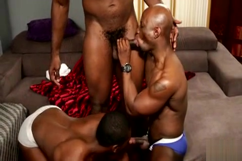 ebony 3 way Good sex naked with a cheerleader