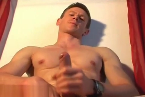 Jero an handsome french sport uy get get wanked his hard cock by a guy Elektra Rose loves getting banged by hard meat