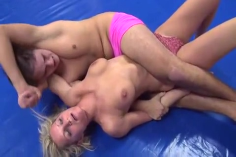 Mixed Wrestling nude fingertip stroke gif