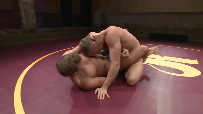 Hot jock dominates his sub in the ring Bib tits blonde pov