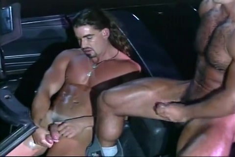 Vintage Muscle Non nude porn stars having sex