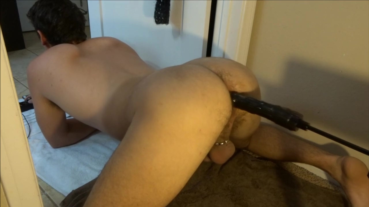Cums from BBC fuck machine Ms panther