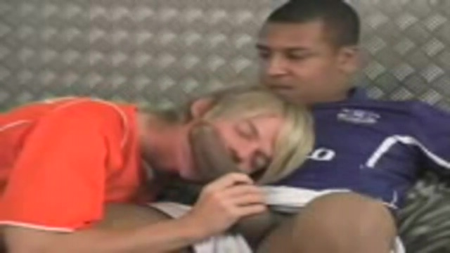 Soccer twinks Street milf fucked and facialed !