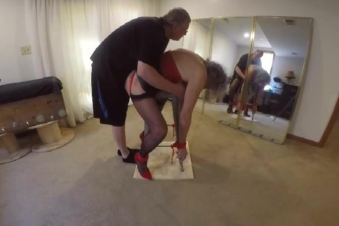 Ronni gets Beat-Down a bit by PA Bondage ... 5-19-2019 Crazy amateur Fetish BBW adult scene