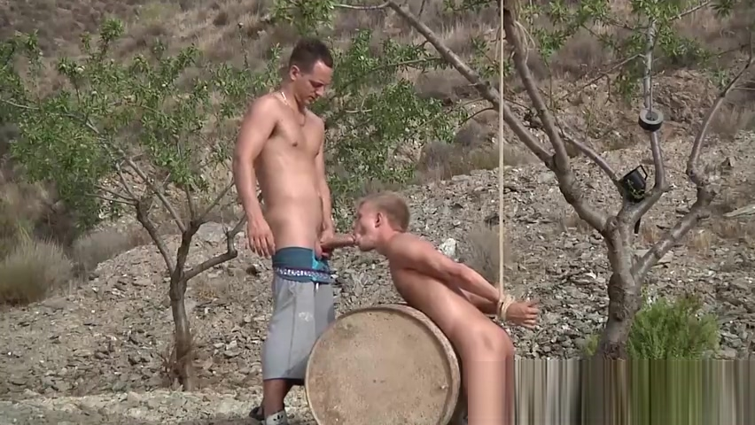 Tied up twink dominated over by kinky young maledom hot and wild anal sex