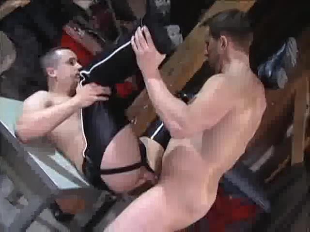 Back Alley Fun Adorable lesbian babes eating pussies