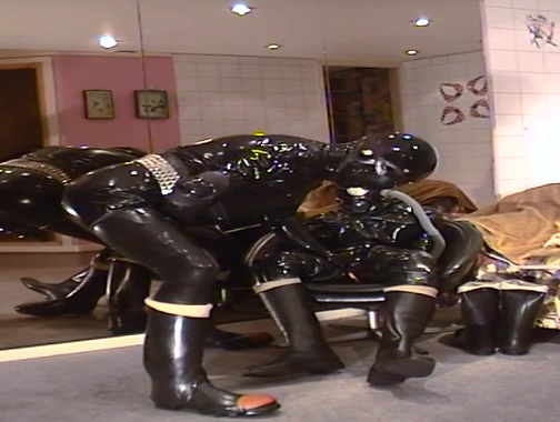 Roxina Brutal Rubber gay hardcore oral porn video