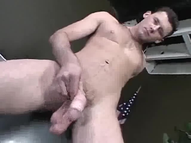 Barrett Long Solo Twink whore lick cock load cumm on face