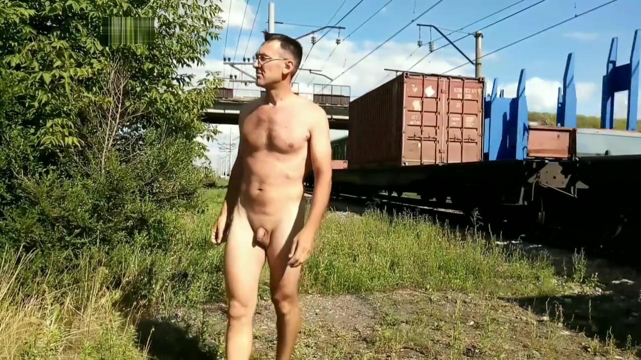 I love railroad. Walking nude Nasty woman in Guapi
