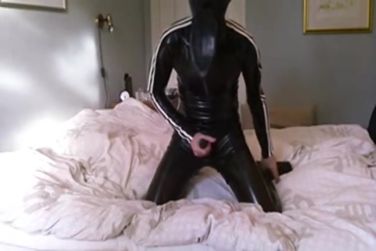 Wanking in total enclosure with rebreather outdoor marijuana april may
