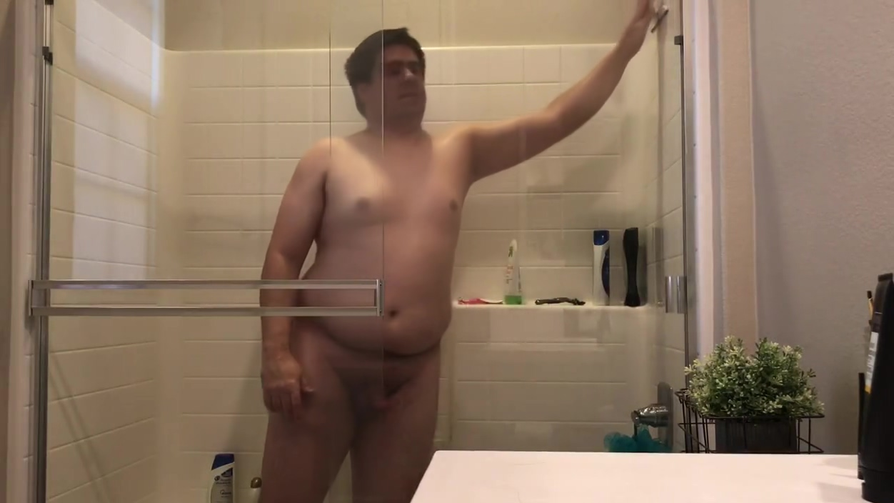 One take. TheBoyCub showers for all to see! Wife gets caught by a friend naked