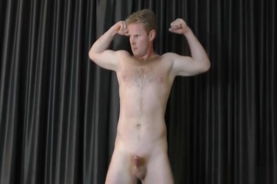 David shows off Strap on adult movie