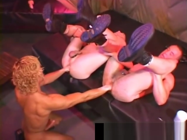 Extreme gay fisting threesome porn clips part5 first on screen interracial kiss