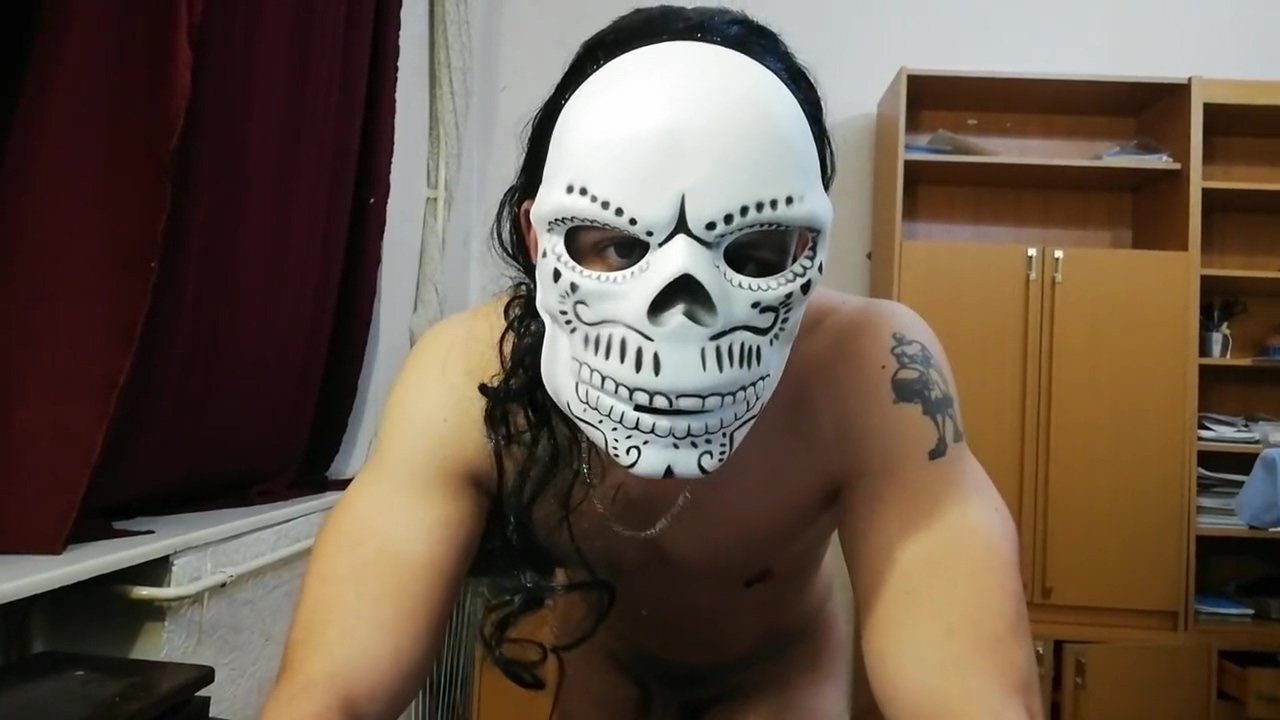 Halloween Special jerking and big creamy cum Funny boob priceless