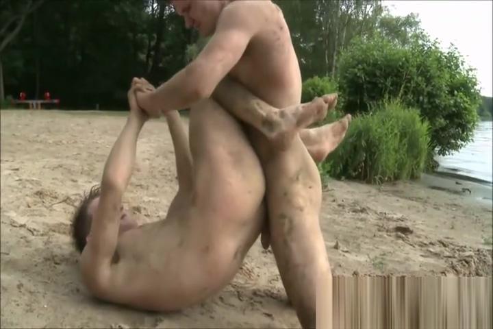 Fight at the Beach Massage Tug