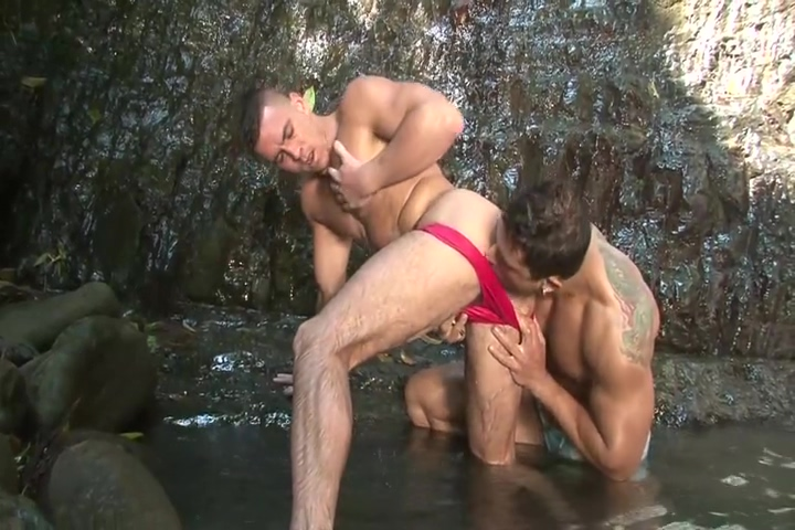 Paddy OBrian and Diego Lauzen - Lovers in Paradise Wife doing chores around homestead naked