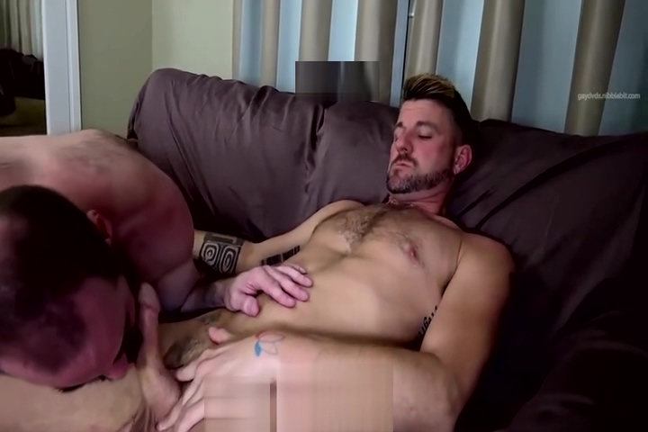 Christian and Steve fuck raw Eat cum toes