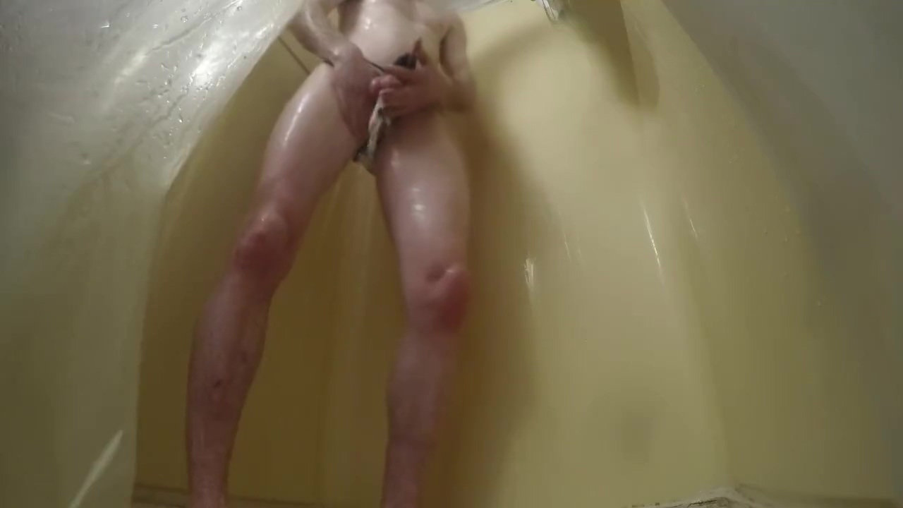 Chasity Device - Shower Time pakistan girl maga sxe