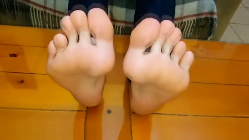 My sweaty feet on your face fat white girls having anal sex