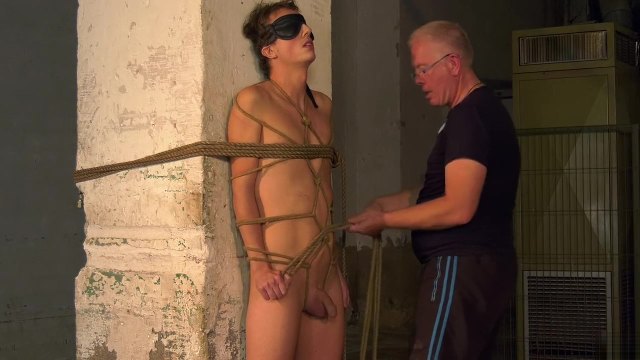 Hot boy tied up part1 My loved boobs