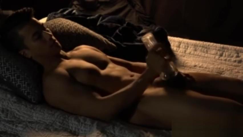 Steaming Hot Young Asian Gay Stud Wanking hot girls getting fuck